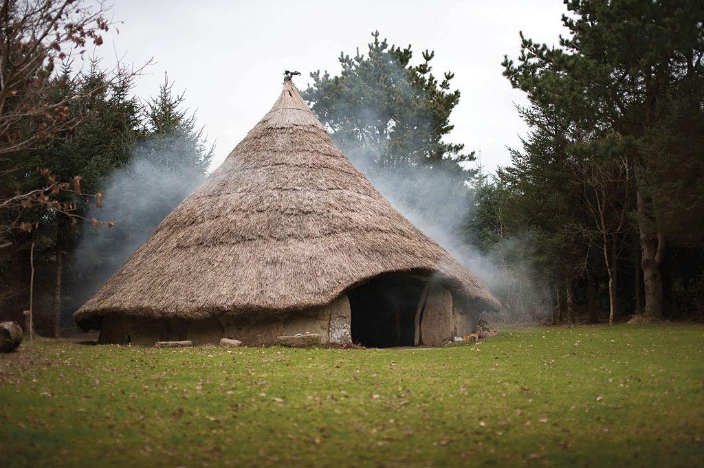 Roundhouse at Bodrifty Farm - near Penzance, Cornwall, UK