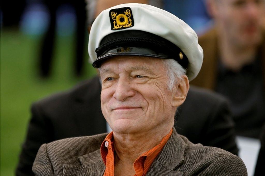 Playboy founder Hefner dies aged 91