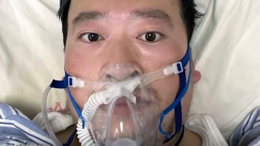 Chinese doctor, Dr Li Wenliang, who tried to warn others about the Covid-19 outbreak - he died in February 2020