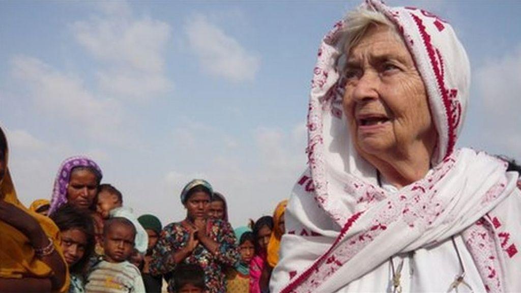 Ruth Pfau: Pakistan's 'Mother Teresa' dies aged 87 - BBC News
