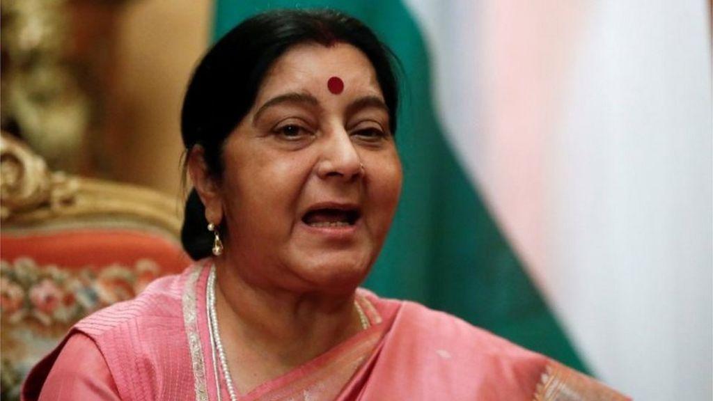 Sushma Swaraj: India's popular former foreign minister dies - BBC News