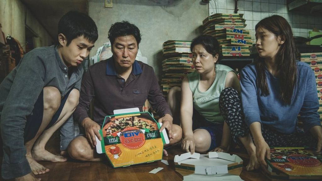Parasite becomes UK's most successful international film - BBC News