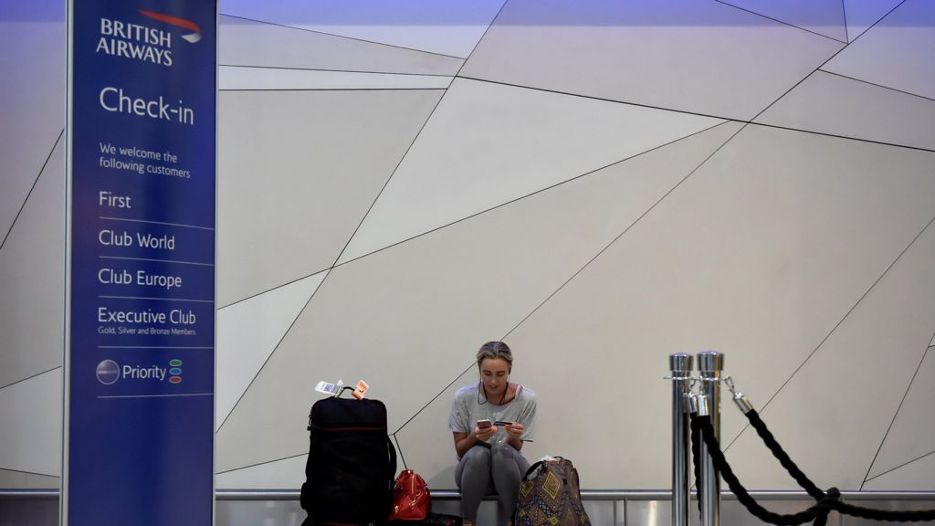 BA aims to resume most UK flights after IT failure