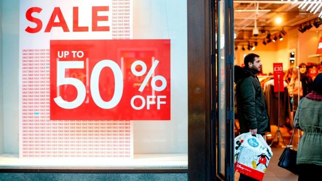 bbc.co.uk - UK retail sales rise again in February
