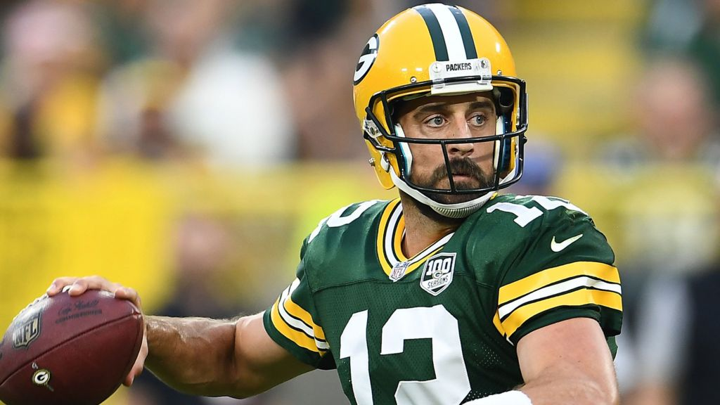 Aaron Rodgers: Green Bay Packers quarterback to become