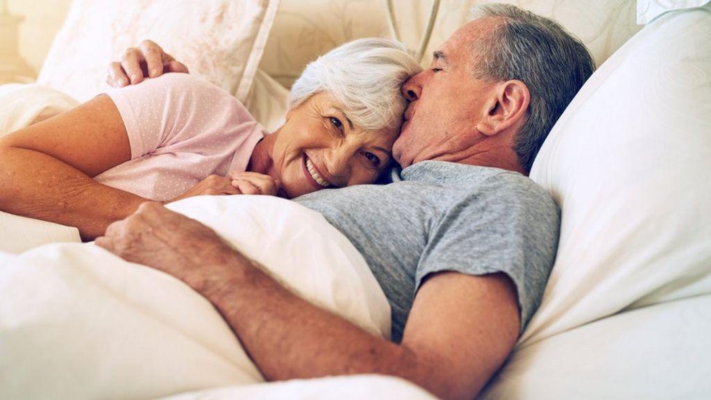 Секс престарелых женщин весьма