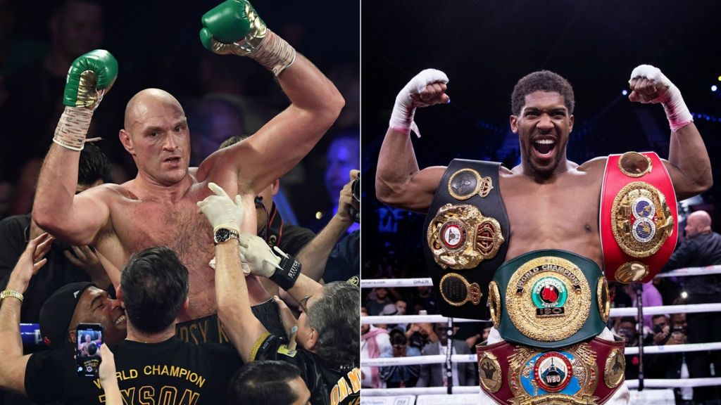 Tyson Fury v Anthony Joshua - biggest fight in British history ...
