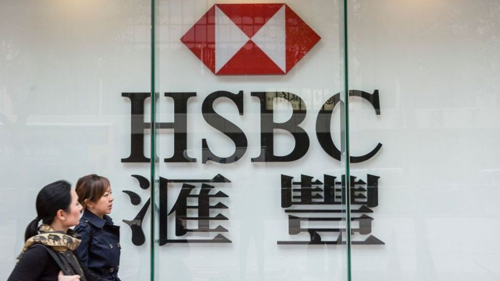 HSBC profits hit by China slowdown - BBC News