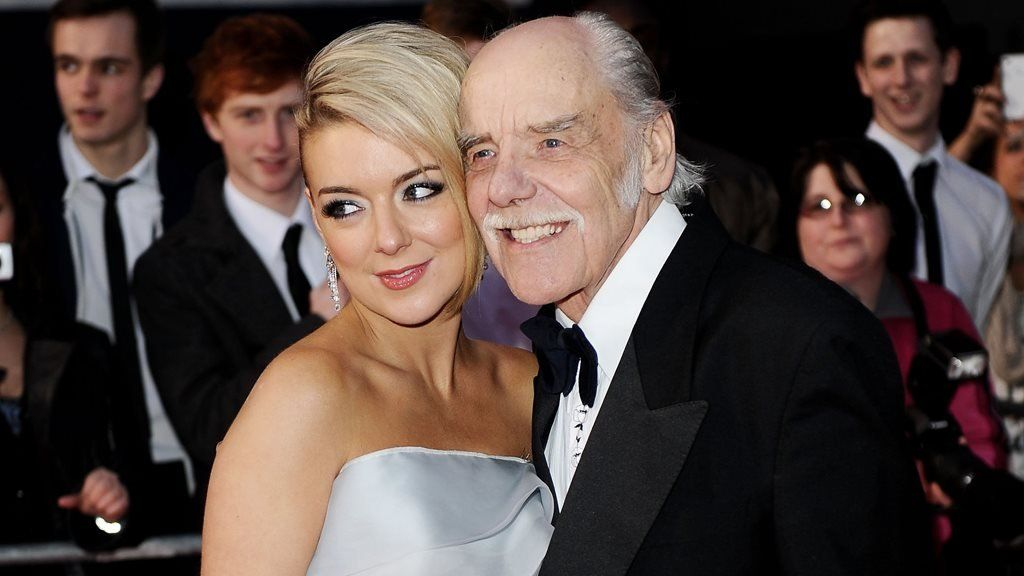 Sheridan Smith with her father Colin at the 2011 Olivier Awards