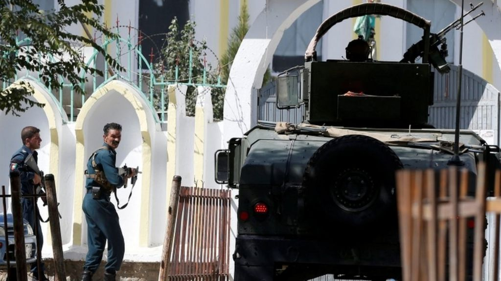 Kabul Shia mosque attacked, leaving 10 dead