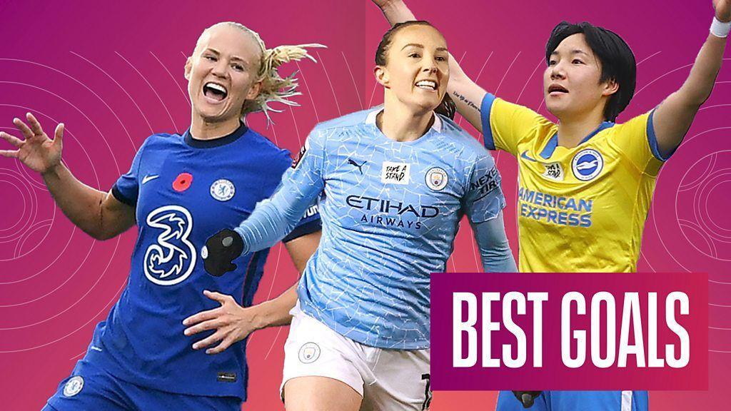 WSL: Thunderous strikes and 'delicious' free-kick among best goals of 2020-21 season thumbnail