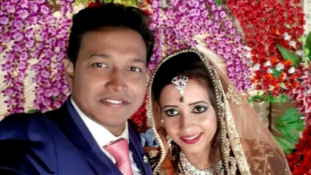 Who sent the wedding gift bomb that killed this newlywed