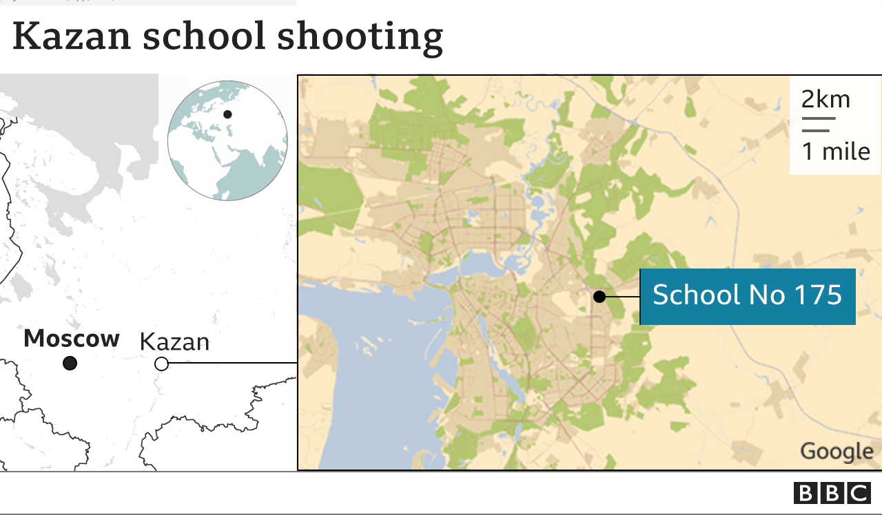 At least 9 killed in Russian school shooting