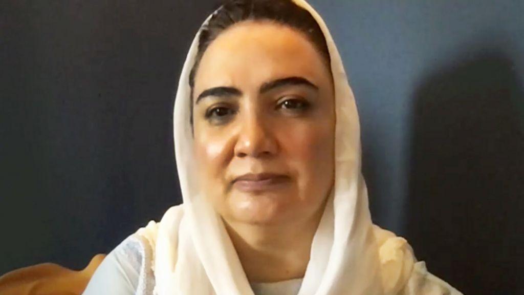 Shukria Barakzai, August 2021