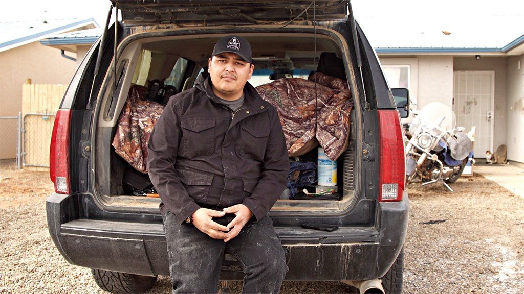 Brandon Billie rarely goes home to see his parents any more for fear of retribution from his community