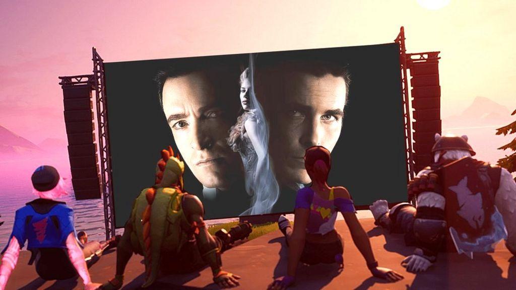 Fortnite Movie Nite: Christopher Nolan's hit films screen in-game - BBC News