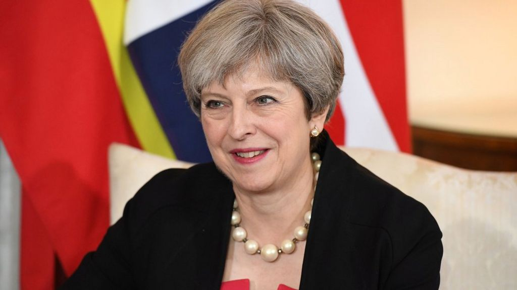 Tories 'wrong' on gay rights in past, Theresa May says