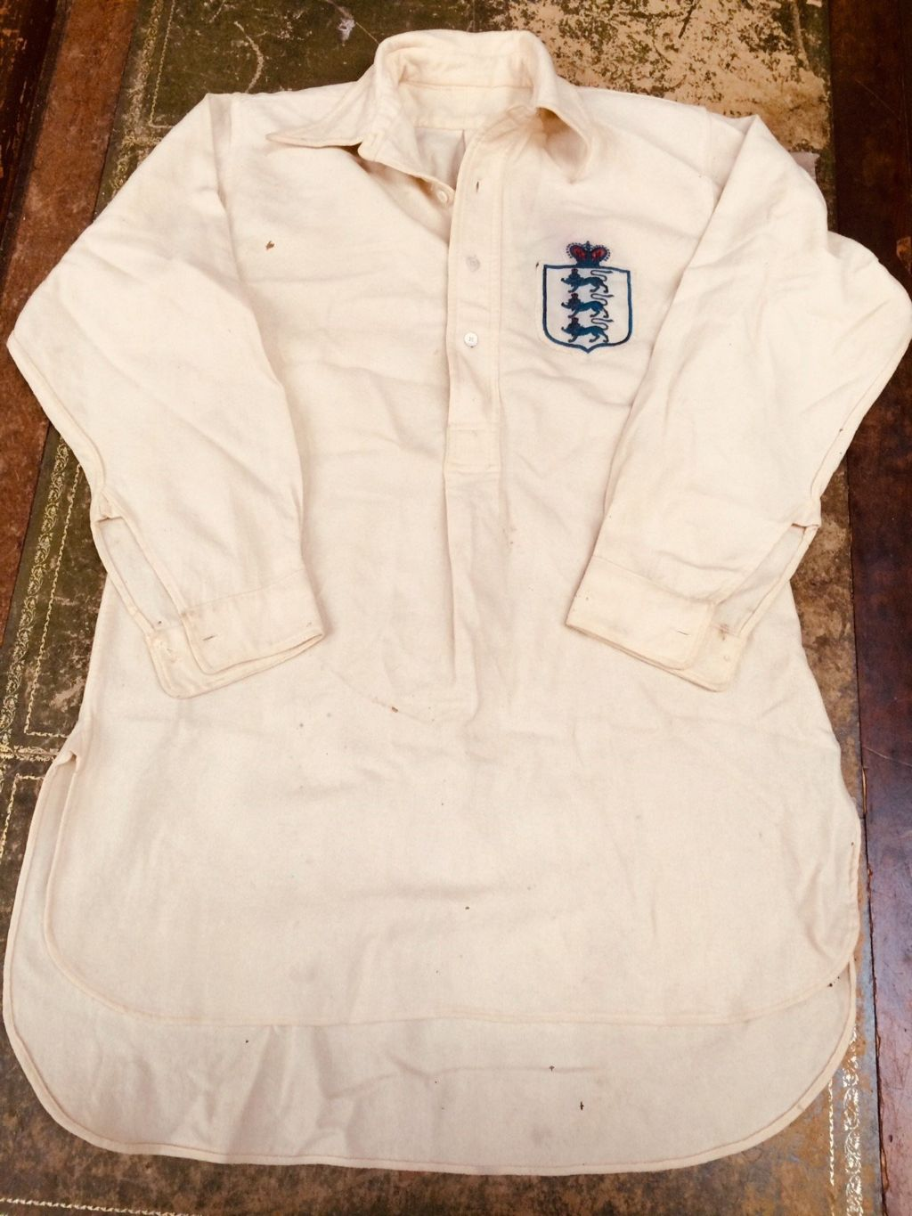 England shirt from 1911