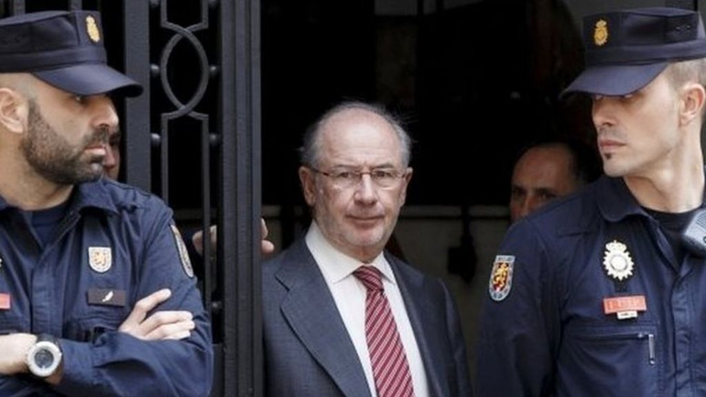 Ex-IMF chief Rodrigo Rato gets 4 5 years for embezzlement