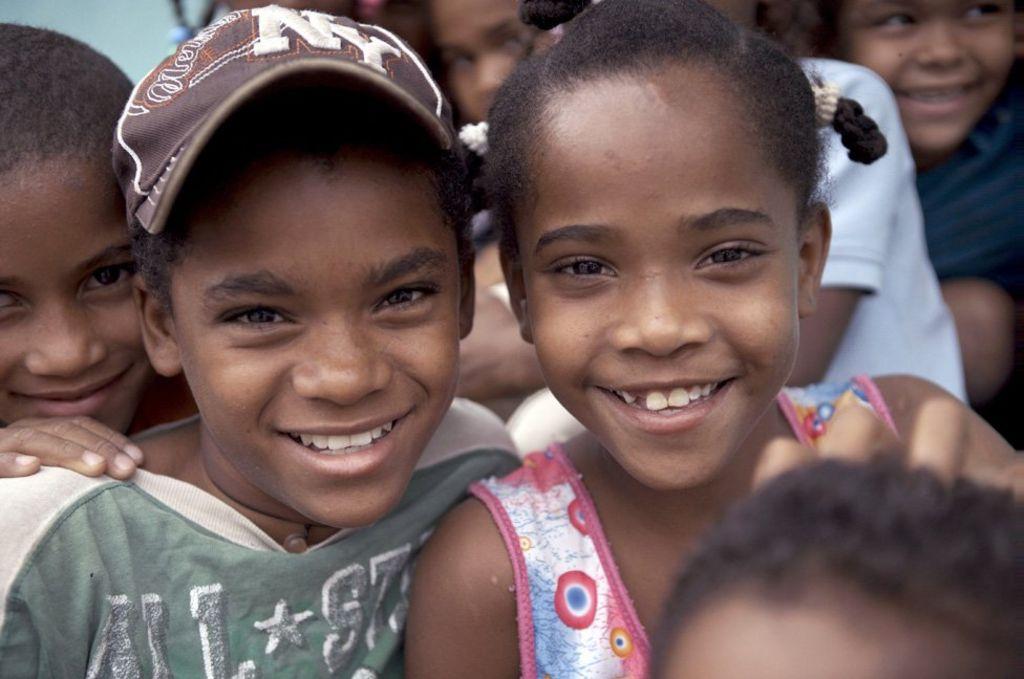 Dominican men and black women