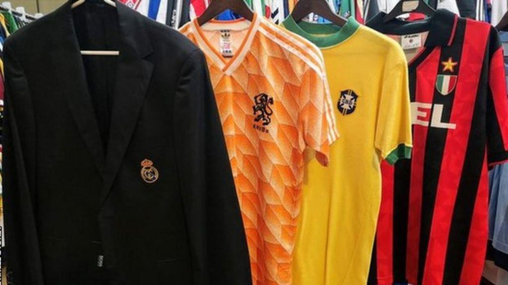 9fa18e3cc Classic football shirts  The students-turned-entrepreneurs searching for  rare kits - BBC Sport