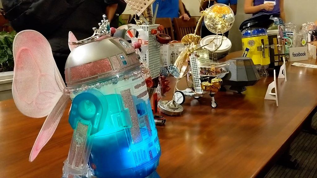 Silicon Valley Firms Compete to Hack R2-D2