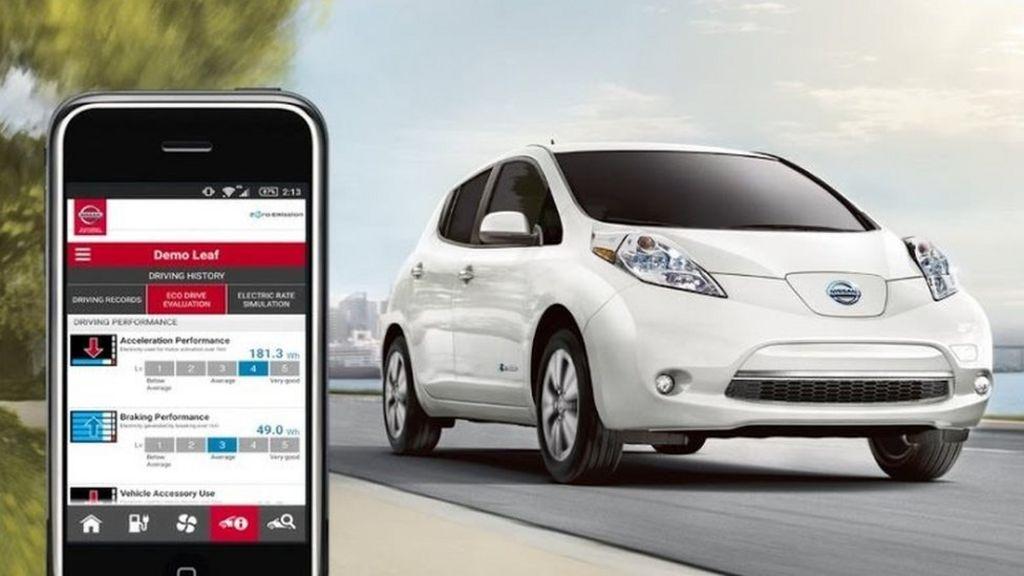 Nissan Leaf electric cars hack vulnerability disclosed - BBC