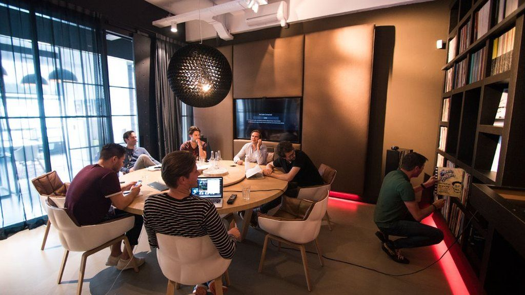 The boardroom at Armada Music