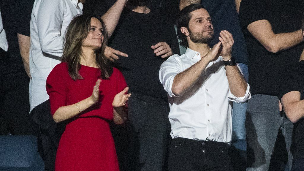 Prince Carl Philip and Princess Sofia of Sweden were among the 60,000-strong audience