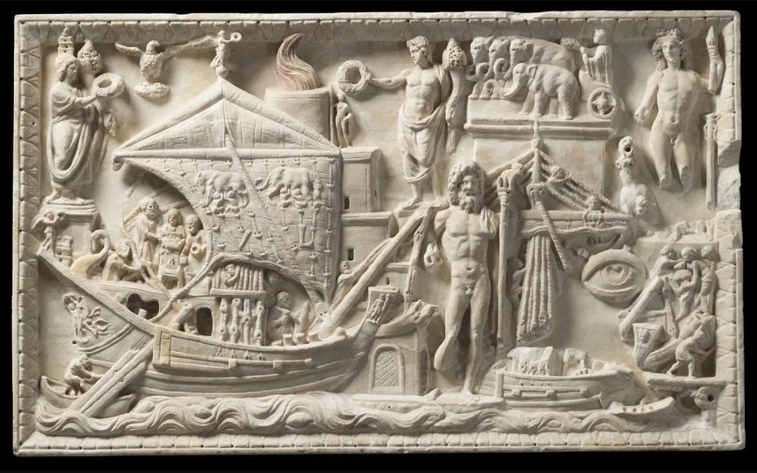 The port scene at Ostia