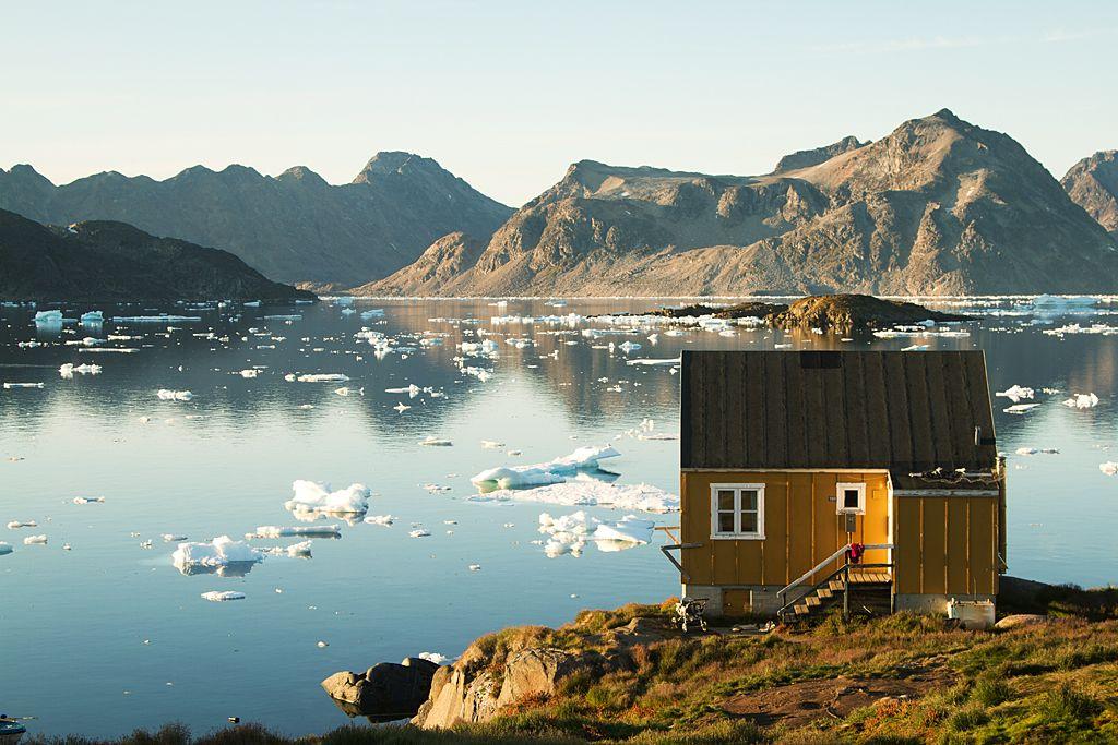 Cabin at Kulusuk, east Greenland