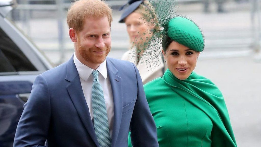 Harry and Meghan at Westminster Abbey