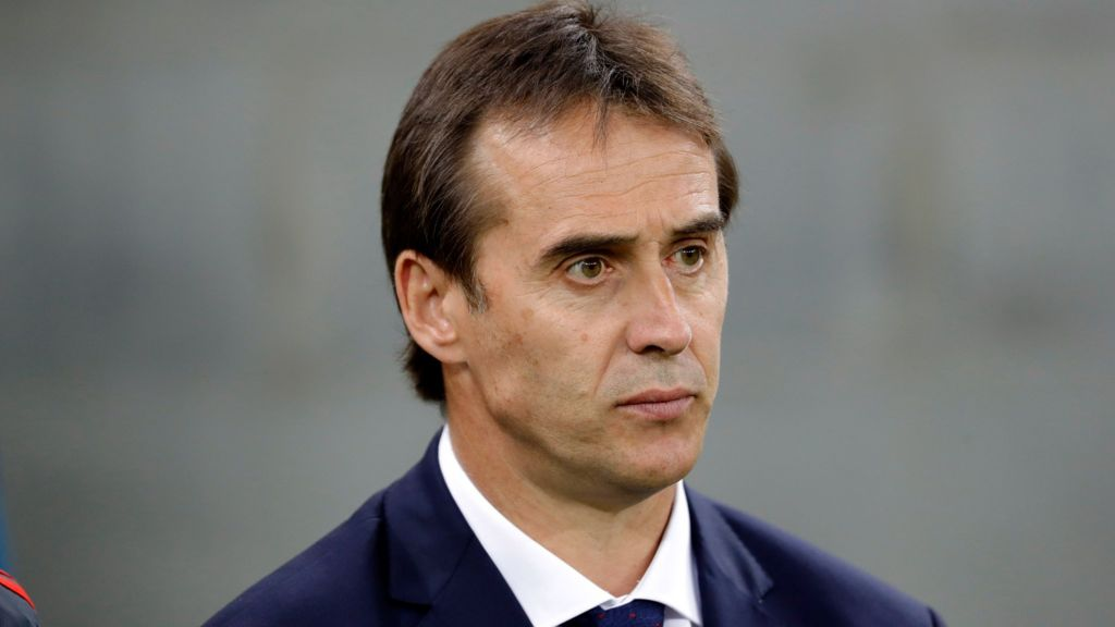 Julen Lopetegui Real Madrid Name Spain Manager As New Head Coach Bbc Sport