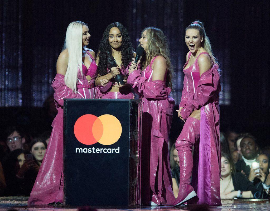 Little Mix win a Brit Award