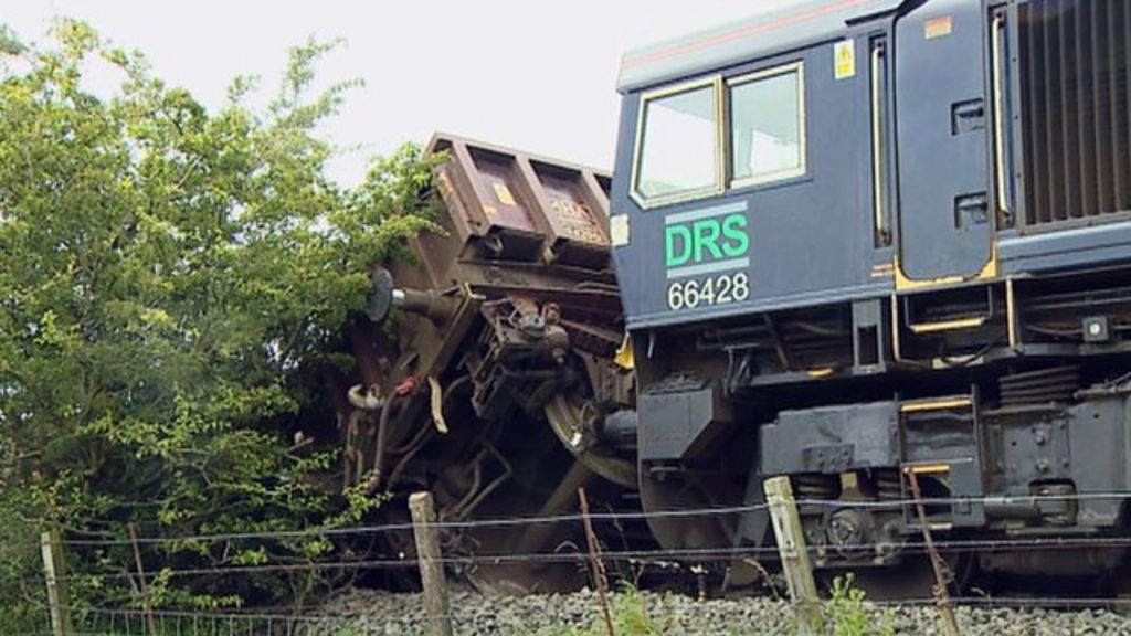 Two Weeks To Repair Line After Engineering Train