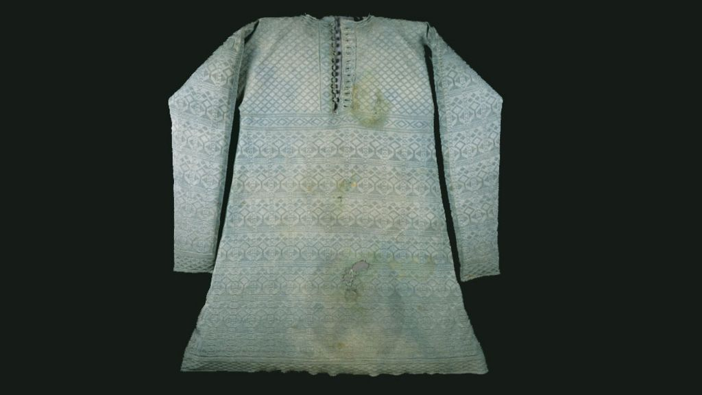 Image result for execution vest worn by king charles""