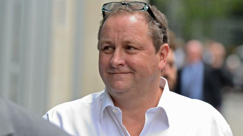 Mike Ashley dismisses £14m claim as 'drink banter'