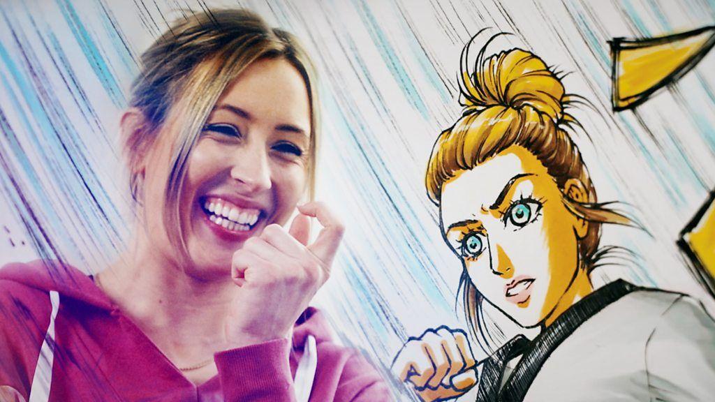 Jones becomes anime superhero - but how will she react to prank?