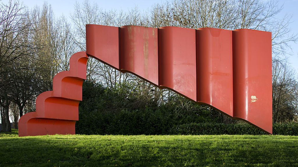 2MS Series No 1 by Bernard Schottlander, 1970 - Milton Keynes, Buckinghamshire.