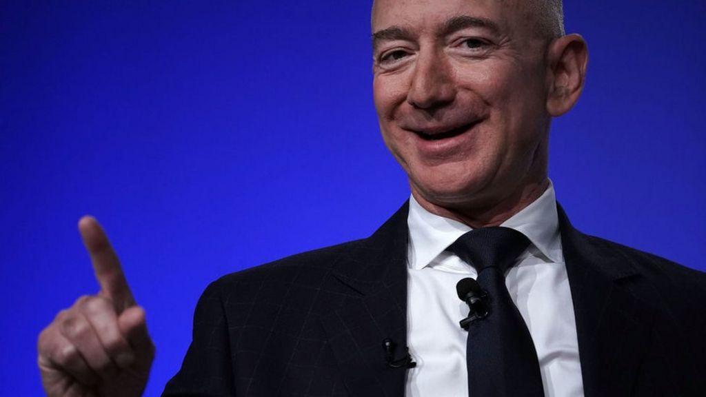 Coronavirus Amazon Boss Jeff Bezos Adds 24bn To Fortune Bbc News
