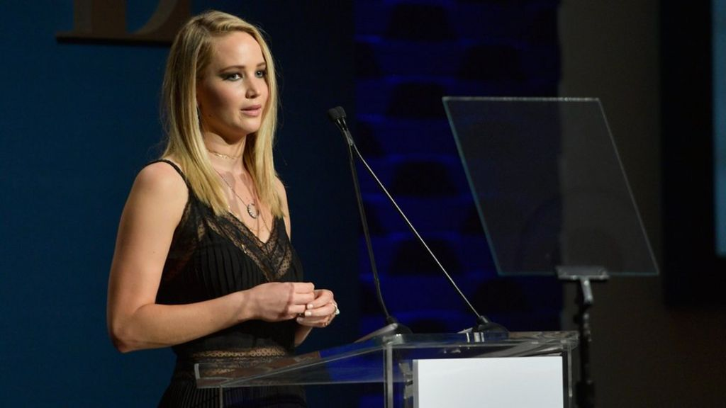 Is Jennifer Lawrence's nude line-up common practice?