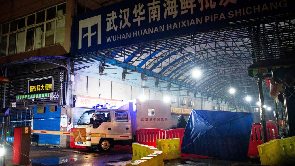 Wuhan's Huanan Seaforo Wholesale Market was sealed off - 11 January 2020