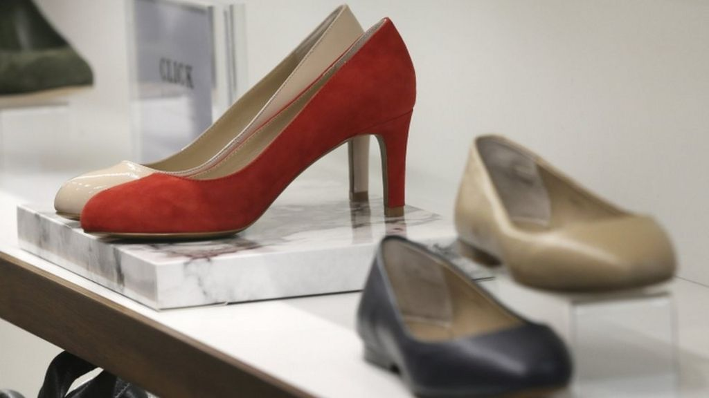 High heels row: Petition for work dress code law rejected