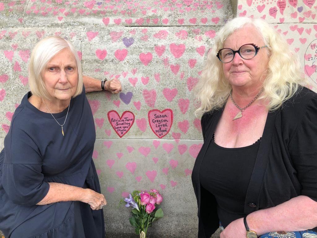 Jane and Nicola
