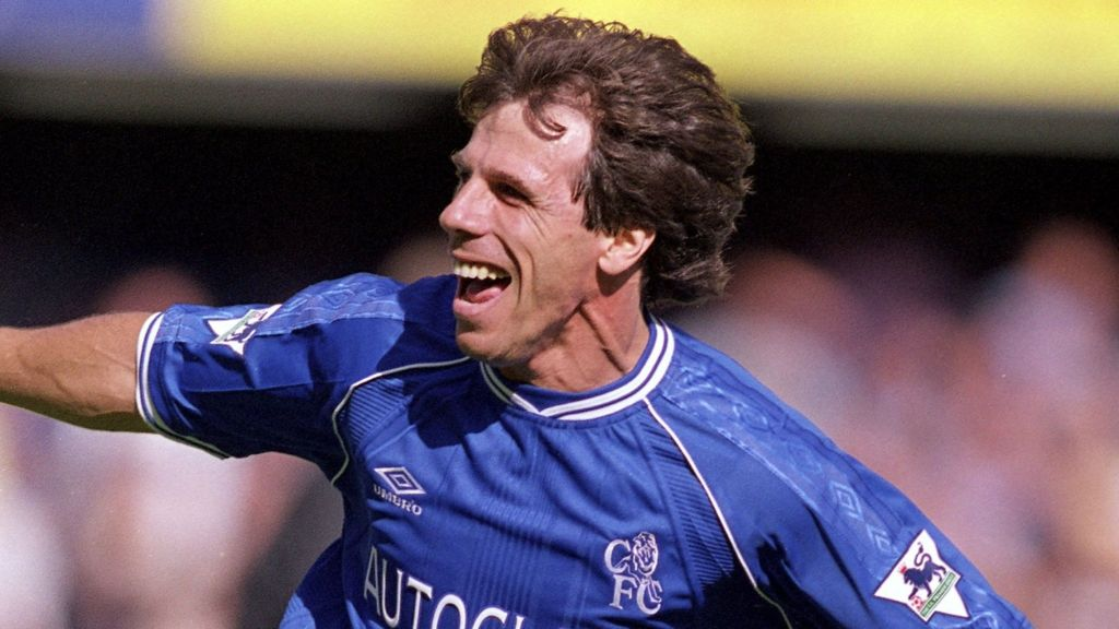 Image result for Former Chelsea Striker Gianfranco Zola Appointed Maurizio Sarri's Assistant