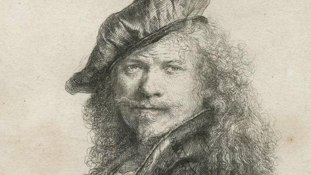 Rembrandt etchings on display at Norwich Caste Museum