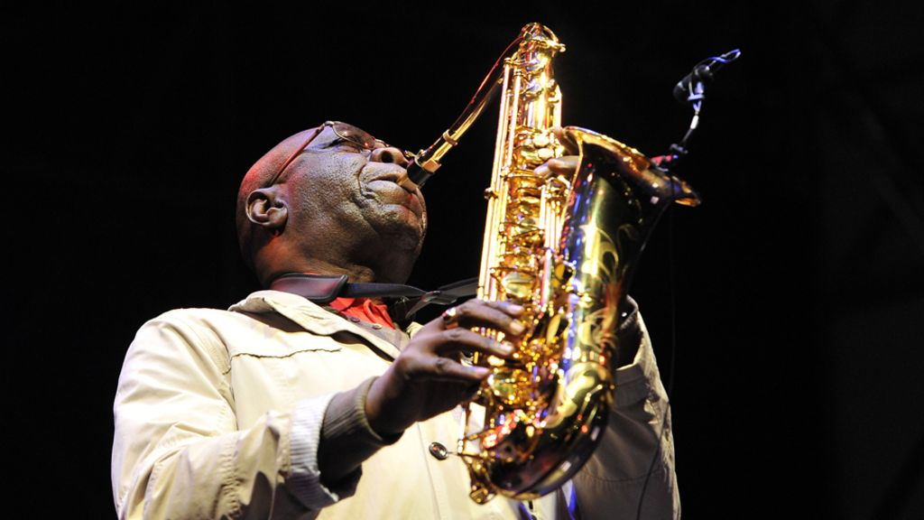 Manu Dibango: The saxophone legend who inspired a disco groove ...