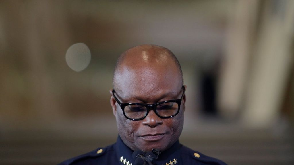 David Brown: Dallas police chief with past marked by tragedy