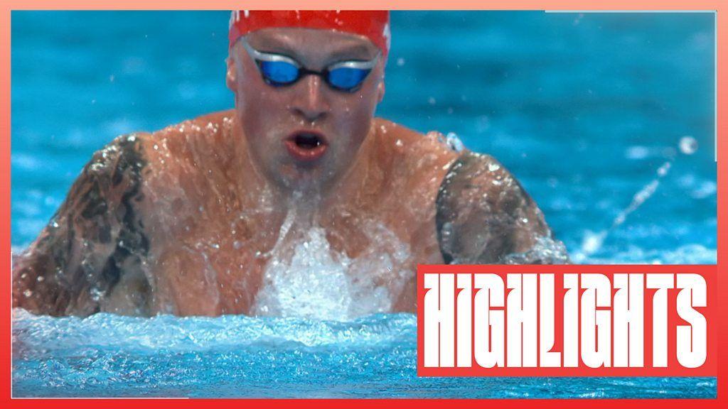 Watch: Peaty wins men's breaststroke semi-final