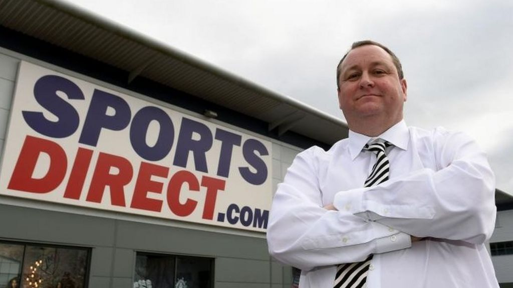Sports Direct profits more than halve - BBC News 69c68efb7